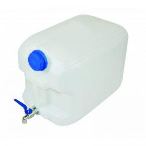 Туба за вода 20 литра с метално кранче