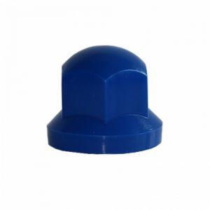 Капачки за болт – 32мм къси сини