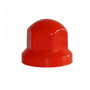 Капачки за болт – 32мм къси червени