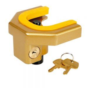 Заключващо устройство за ремарке, каравана