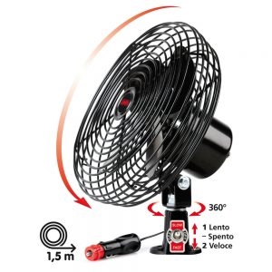 Метален вентилатор 8 инча 24V