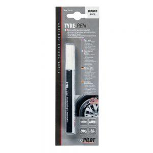 Бял маркер за гуми