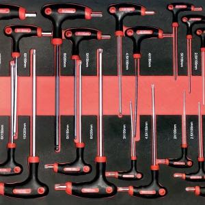 Количка с инструменти, шкаф за инструменти с 7 пълни чекмеджета EverForce