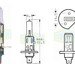 Крушка H1 24V