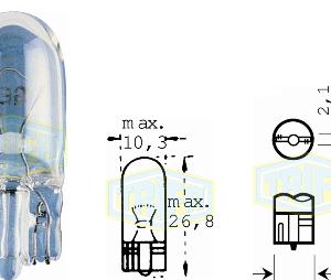 Крушка 24V 5W – без цокъл