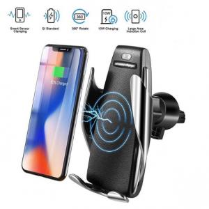 Безжично зарядно и стойка за телефон за кола