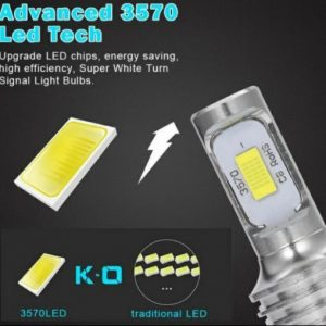 LED крушки за фар H4