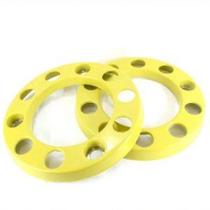 Универсален пластмасов тас 22.5 – жълт