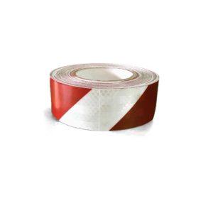 3M Светлоотразително тиксо- червено/бяло
