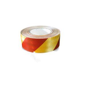 3M Светлоотразително тиксо- червено/жълто